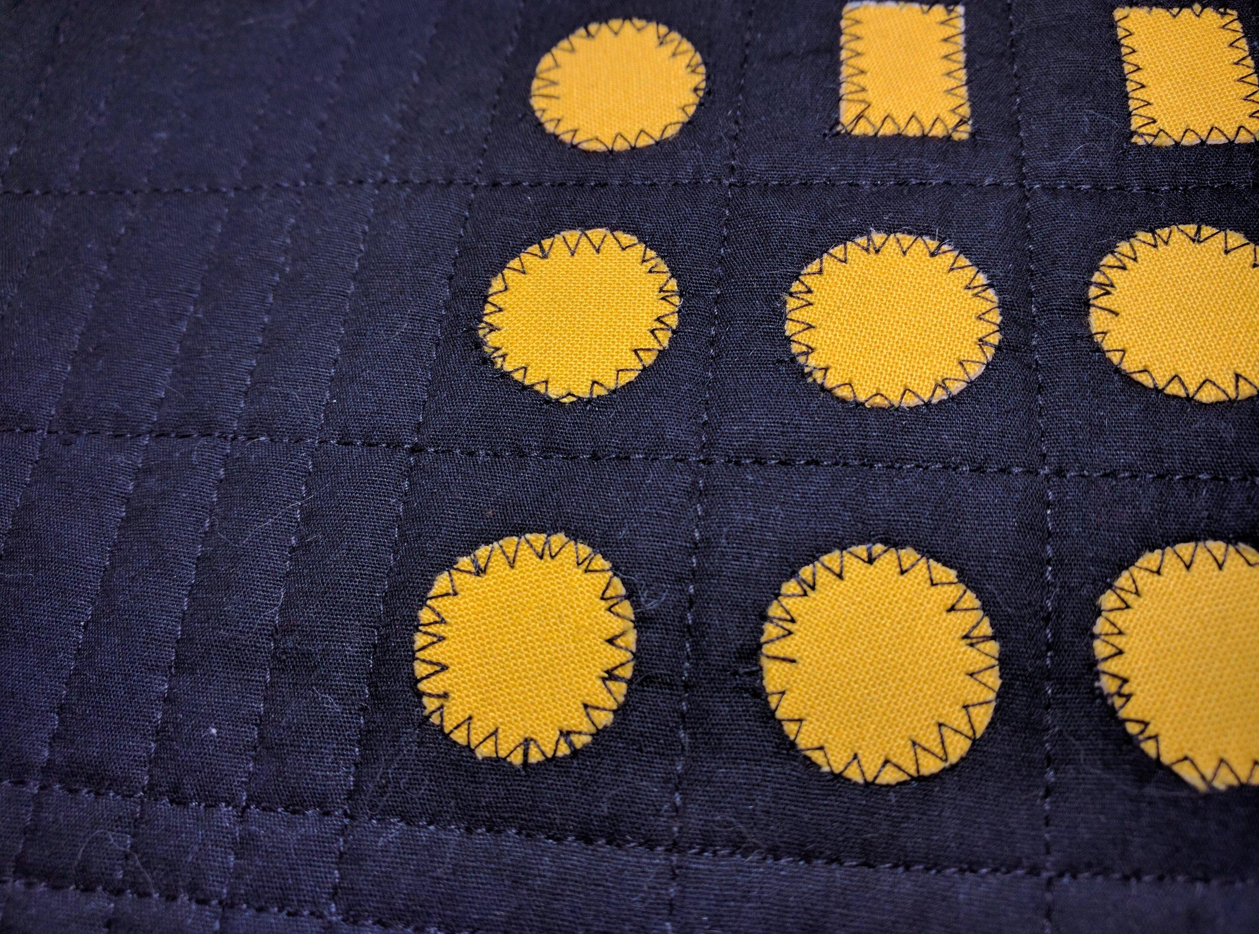 Hufflepuff closeup