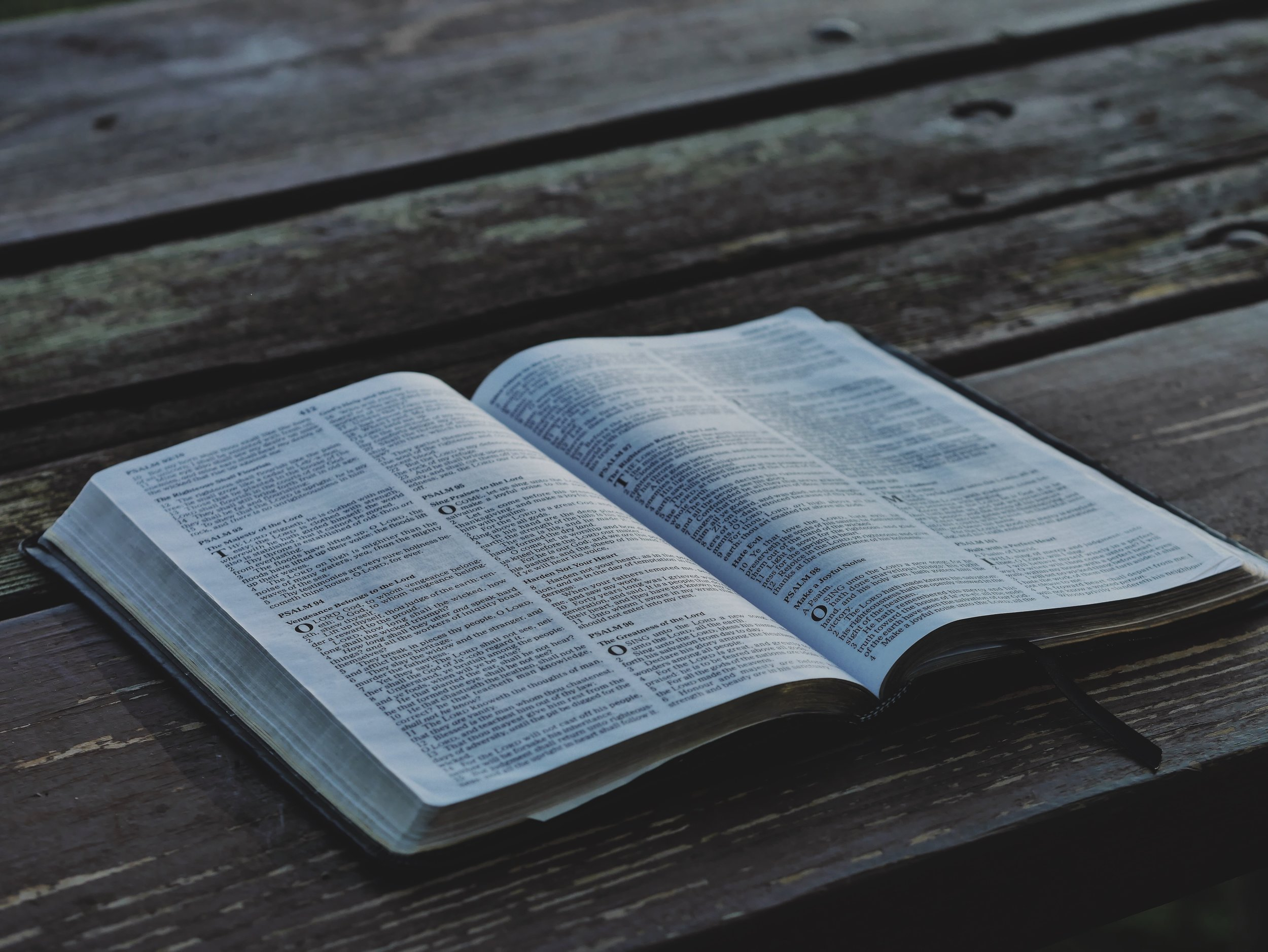 """SCRIPTURE - We hold to a high view of scripture, which affirms the doctrines of inerrancy, inspiration, and infallibility. We affirm the Reformation declaration of """"SOLA SCRIPTURA"""" and believe that Scripture holds the final authority over the Church and our lives."""