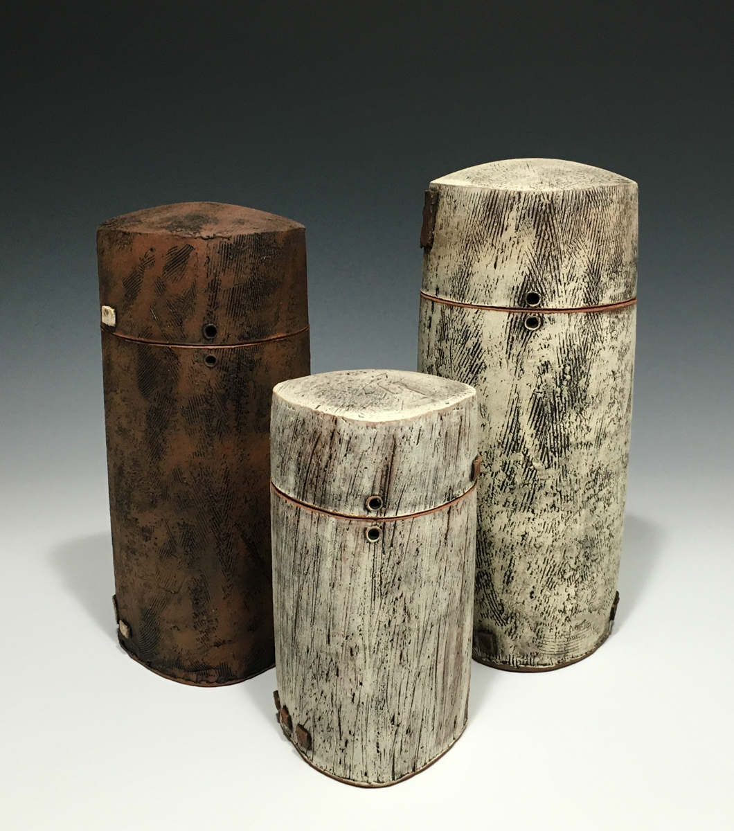 Cover Jar Triptych