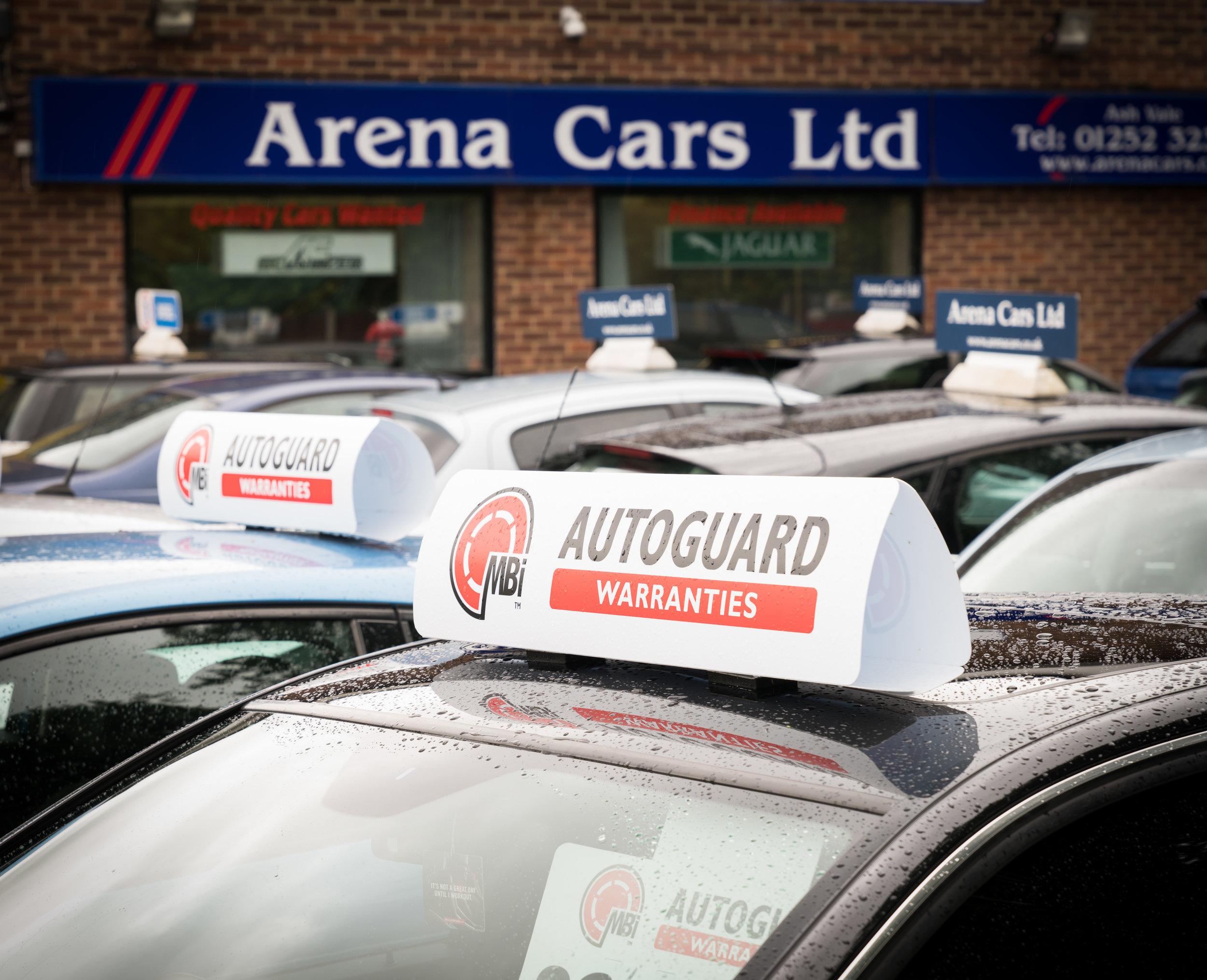 Marketing images for Autoguard Warranties.