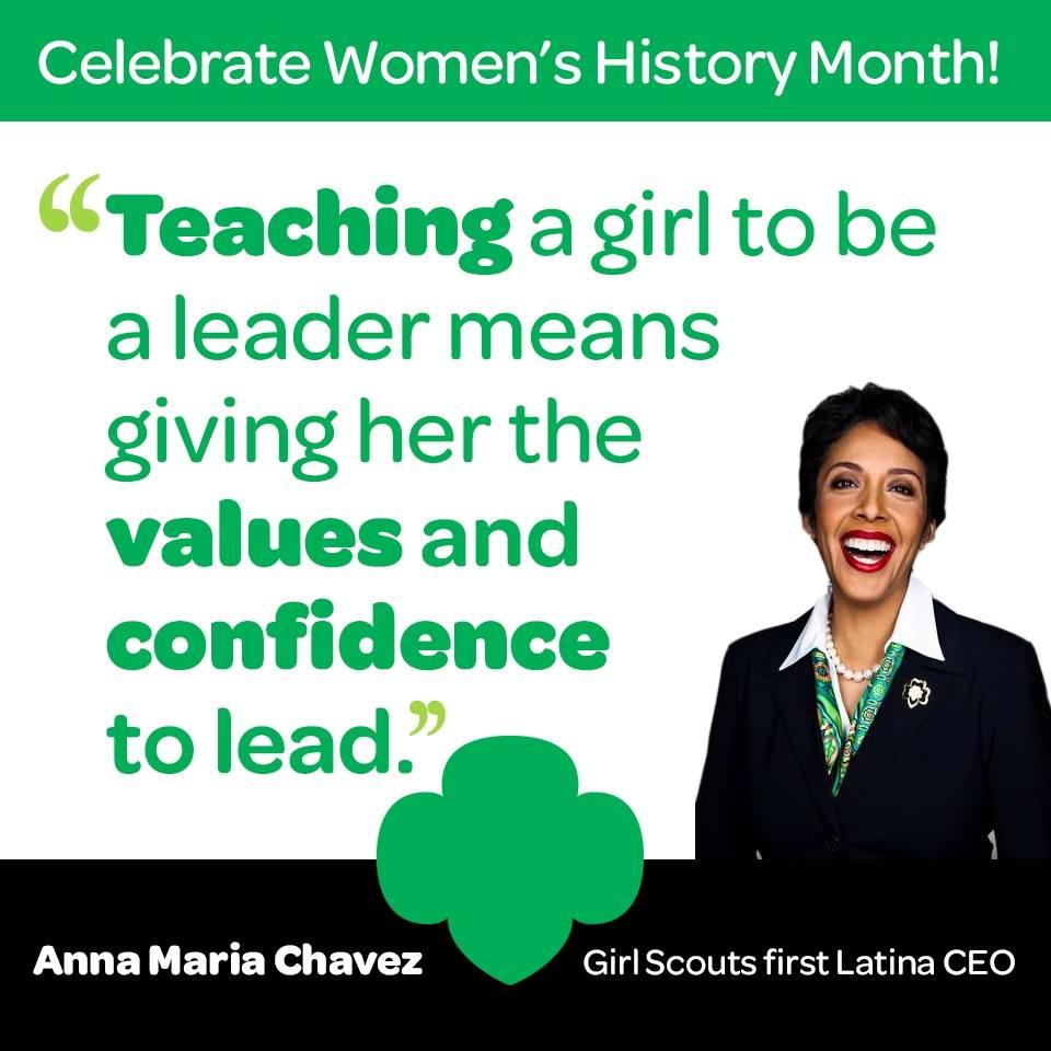 Celebrate Women's History Month: Anna Maria Chavez