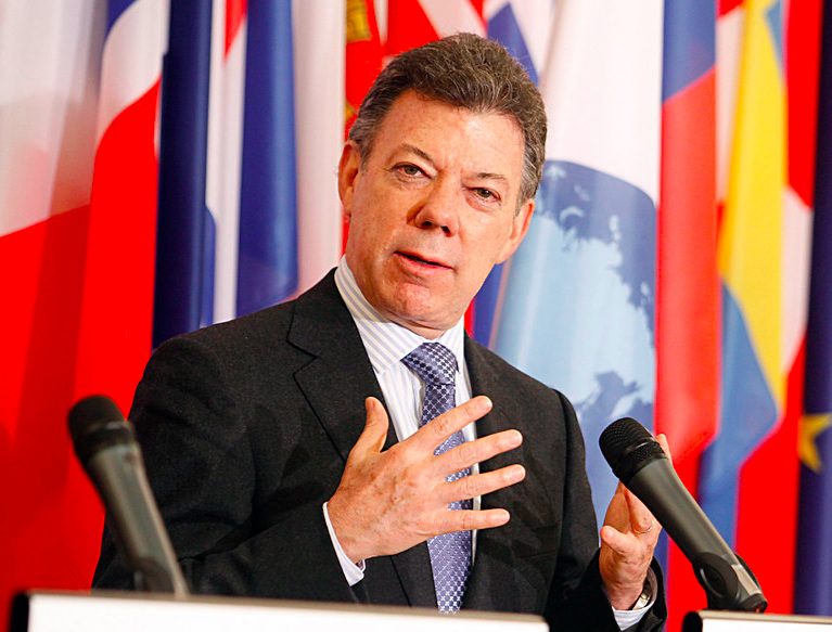 - Juan Manuel Santos served as the President of Colombia from 2010 to 2018. He received the Nobel Peace Prize in 2016 for negotiating a peace deal with FARC guerillas, ending decades of conflict. He has also served as the Minister of Foreign Trade (1991-1994), Minister of Finance and Public Credit (2000-2002), and Minister of National Defense (2006-2009).He has held a number of economic and media positions, such as economic advisor to the International Coffee Organization, Vice Chair of Inter-American Dialogue, and president of the Freedom of Expression Commission for the Inter American Press Association. He was a Nieman Fellow at Harvard University in 1988.He earned his Bachelor's degree from the University of Kansas. He also holds a Master's of Science in Economics from the London School of Economics, and a Master's of Public Administration from Harvard Kennedy School. He was a Fulbright visiting fellow at the Fletcher School of Law Diplomacy in 1981.