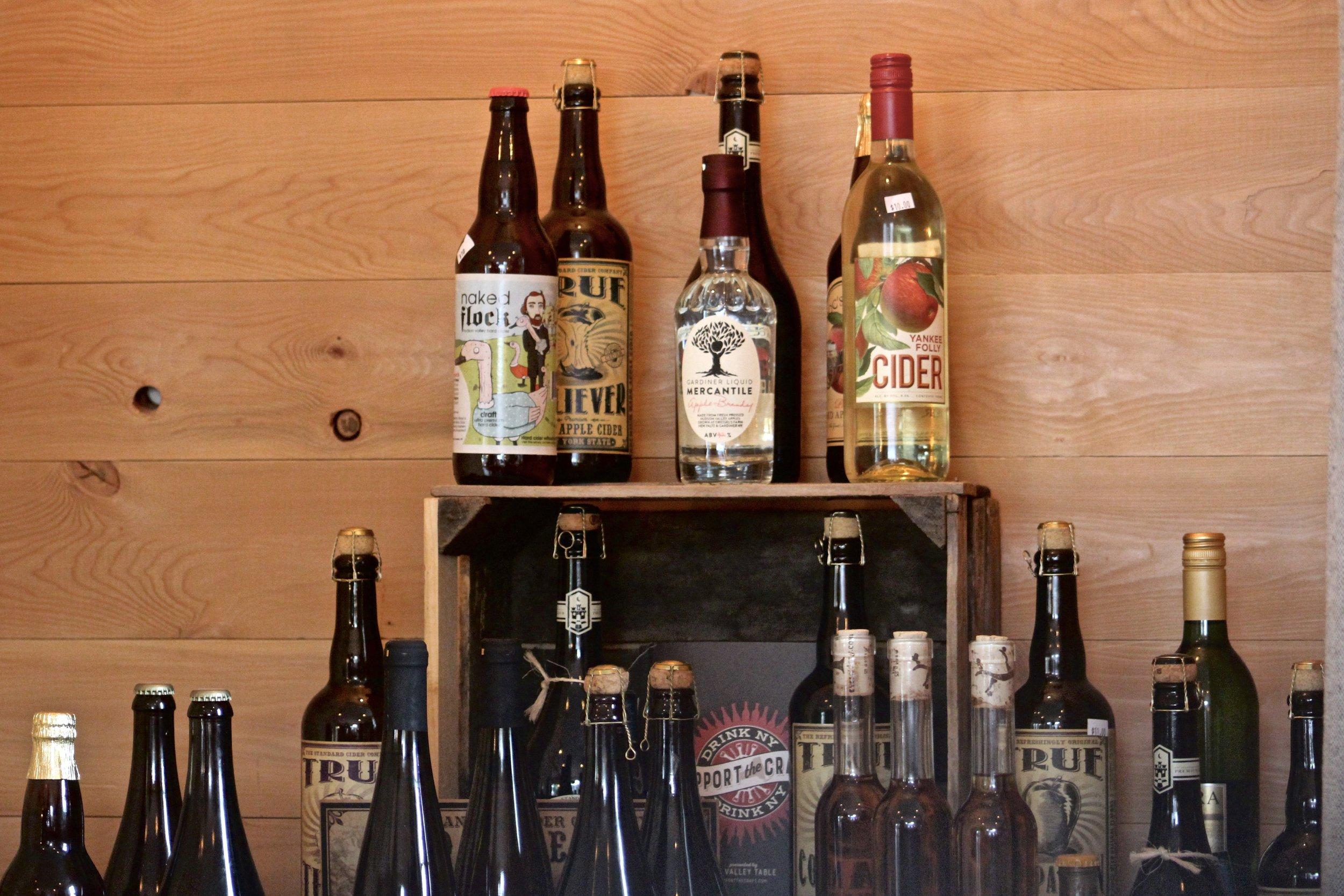 Gardiner Liquid Mercantile local offerings
