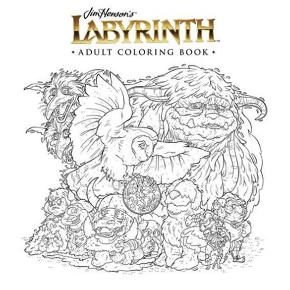 """""""Labyrinth"""" Adult Coloring Book"""