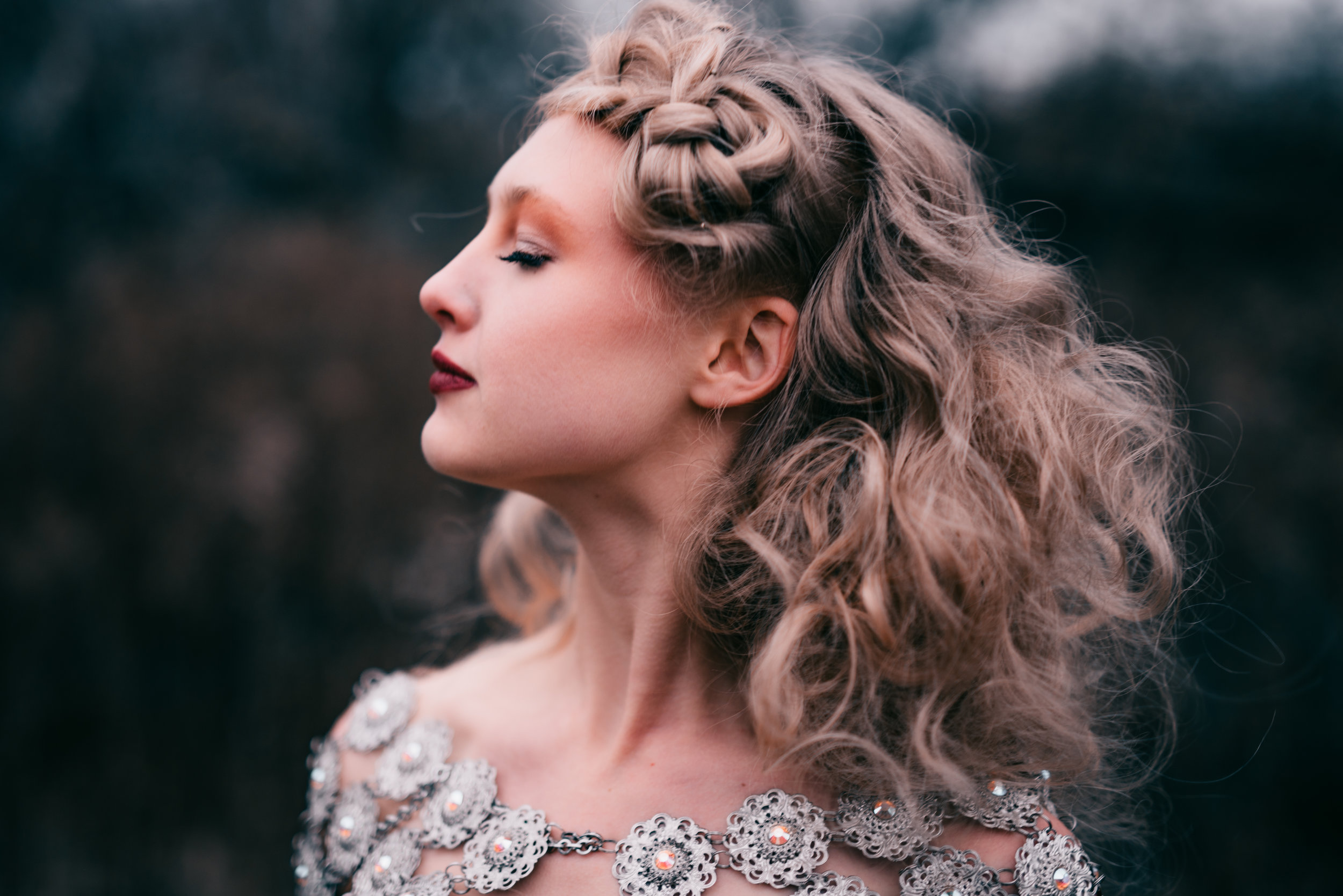 Photographer Regina Wamba   Hair Erika Nash   Makeup/Wardrobe Laura Elizabeth DuVall Seaboy   Models Anna Chance & Forres Floobis Rasmussen