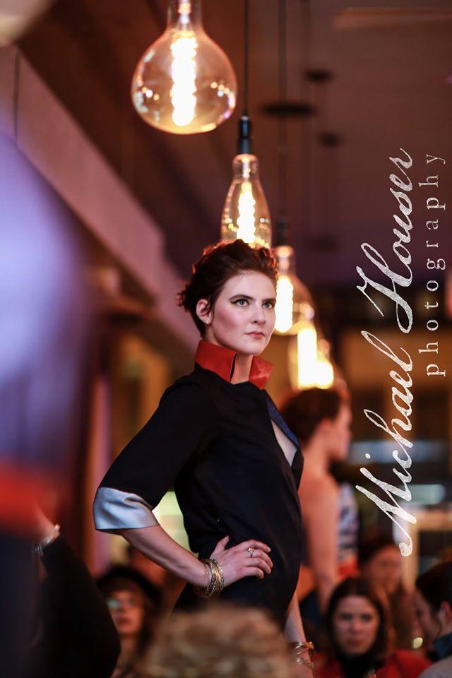Photographer: Michael Houser   Designers: Mercedes Bergman & Duchess of Whittier   Hair: Mark Navarro   Makeup: Laura DuVall Seaboy Models: Noelle Bauer