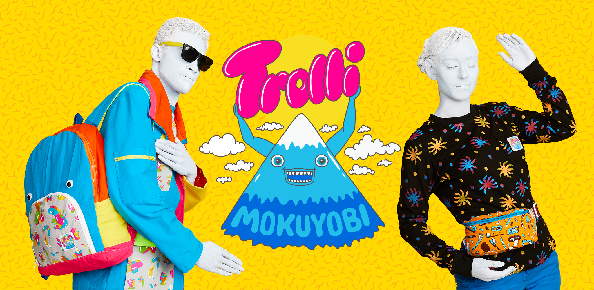 "Trolli X Mokuyobi Collaboration Campaign  ""Weirdly Woven""  Bodypainting/Hair/Makeup: Laura DuVall Makeup Artistry and Mark Navarro  Periscope Productions"