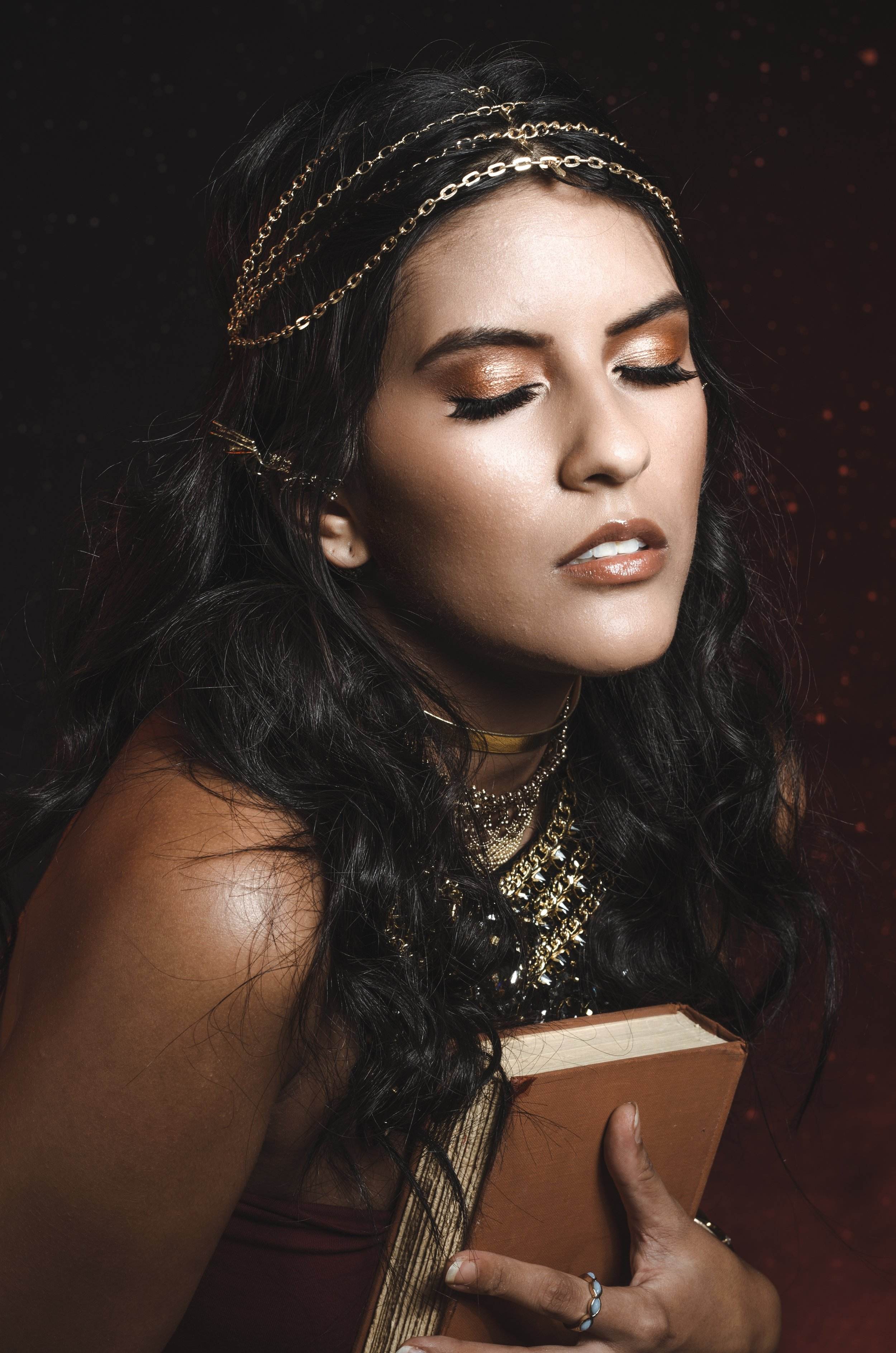 Photographer: Regina Wamba  HMUA: Laura DuVall Makeup Artistry  Model: Shilow Sullyboo