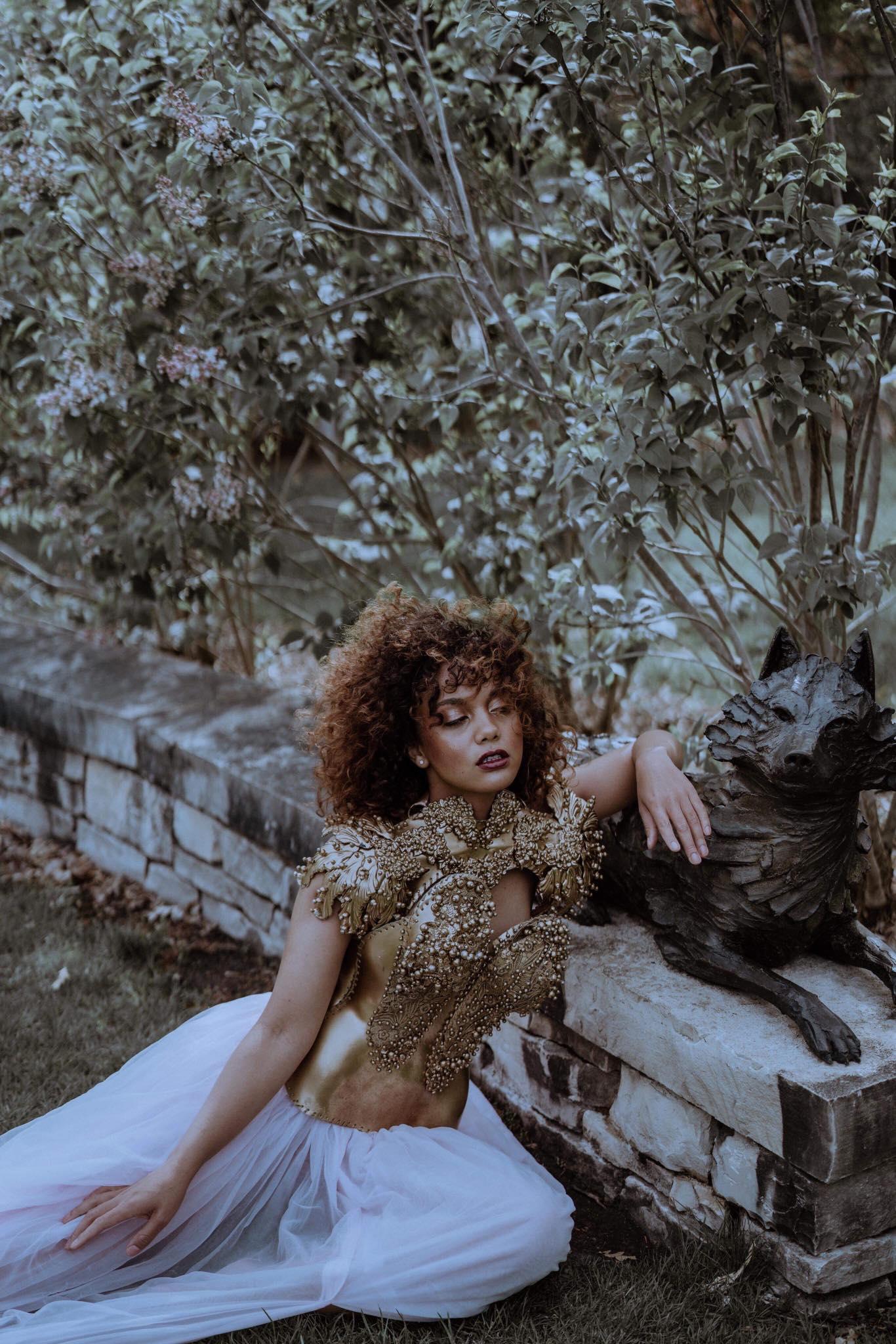 Photographer Artist Regina Wamba Makeup Laura Elizabeth DuVall Seaboy Model Jesafa Banks