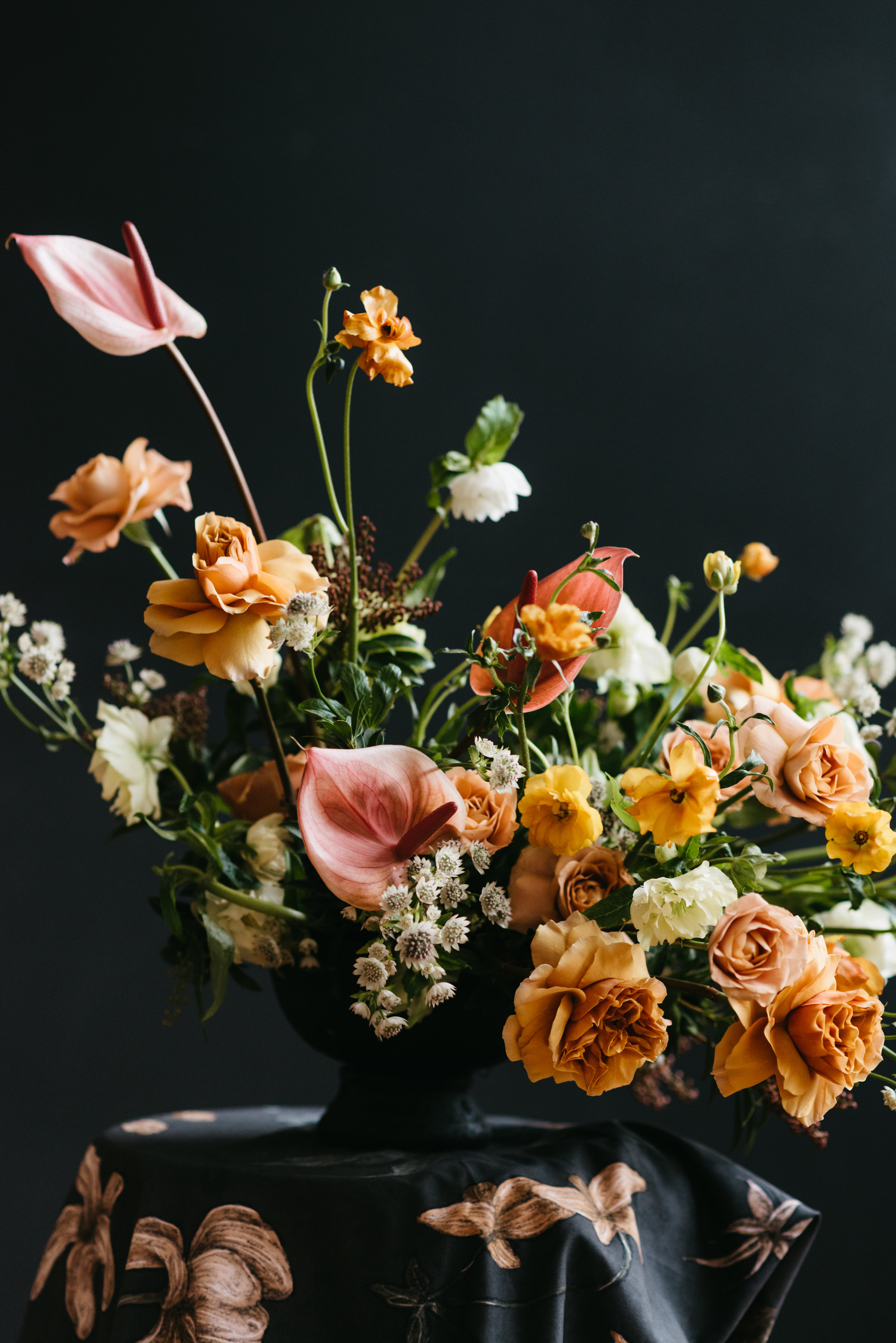 Floral Design by Color Theory Collective | Photograph by Kate Ames
