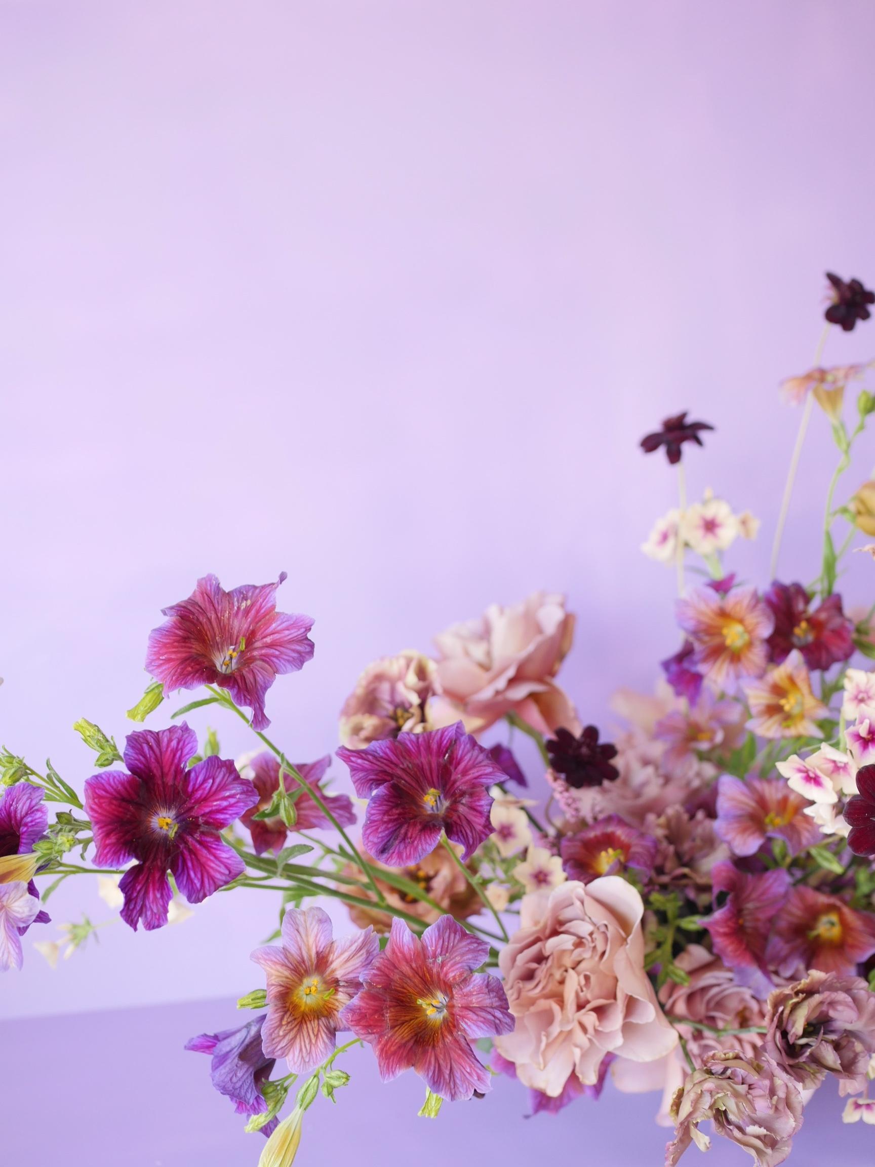 Flower arrangement by Portland florist Color Theory Collective