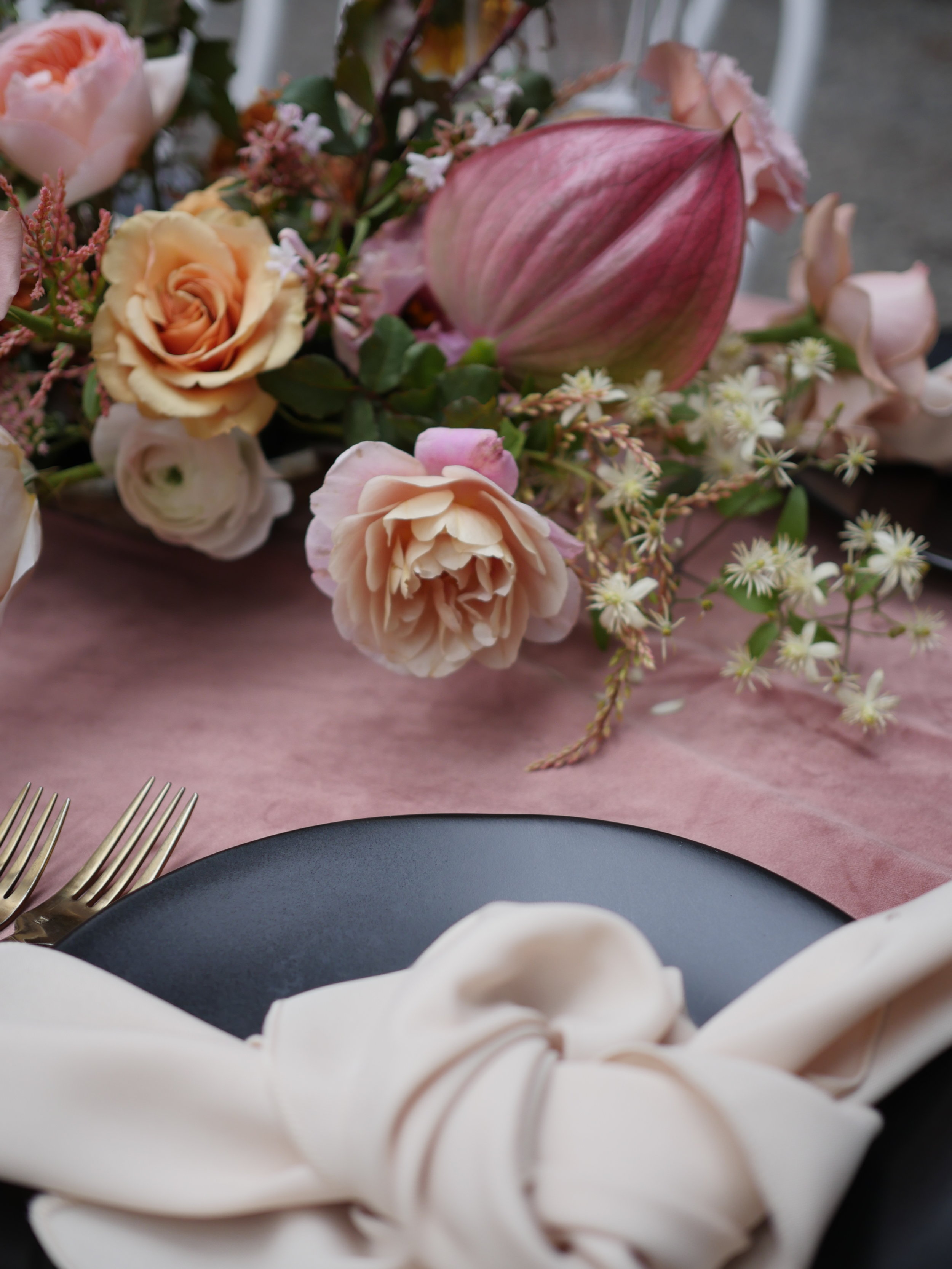 Flowers for wedding by Color Theory Collective