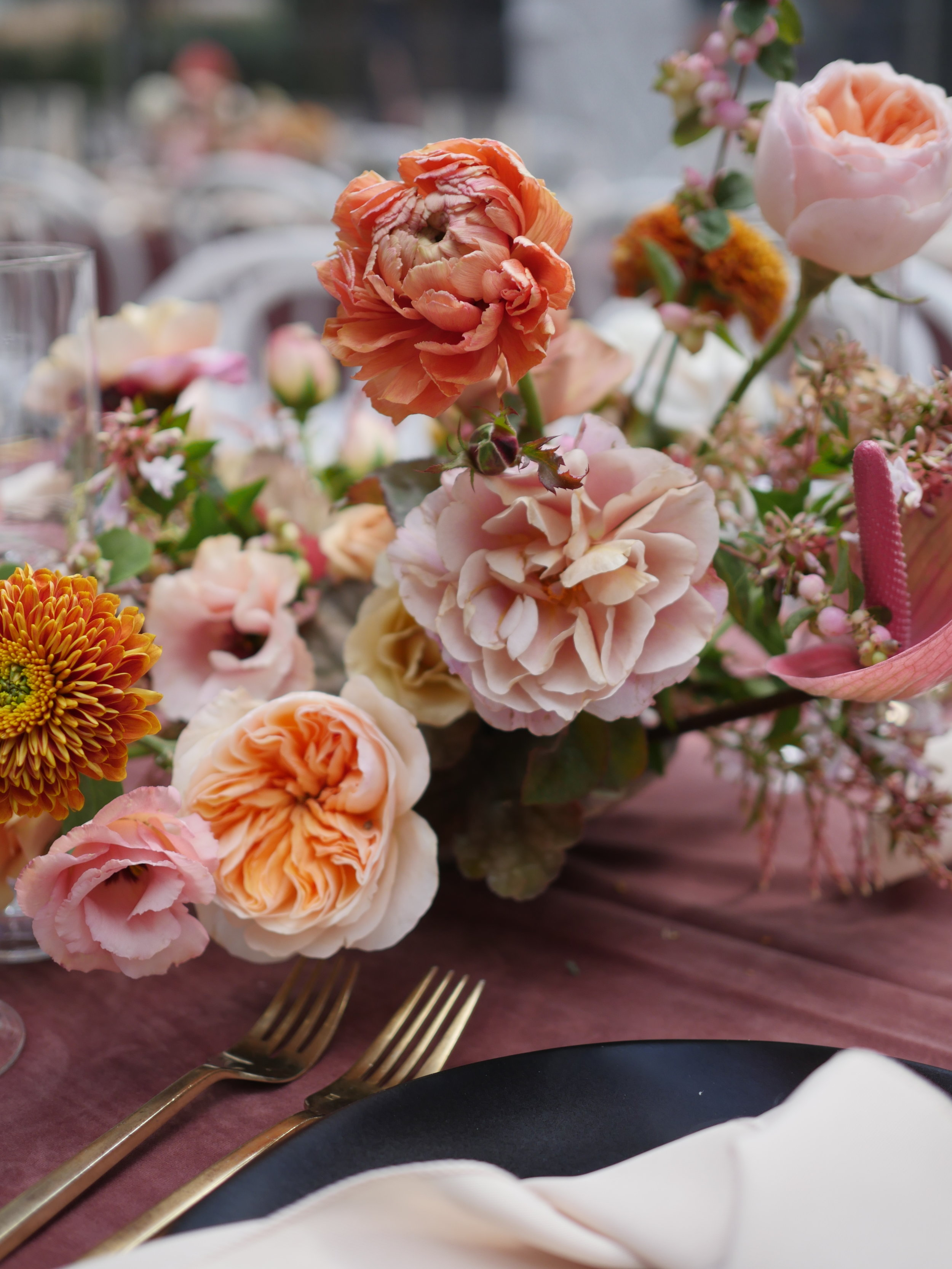 Wedding flowers and design by Color Theory Collective