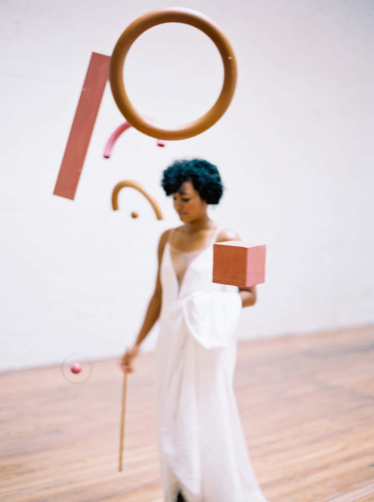 Bride and stylized photoshoot by Color Theory Collective