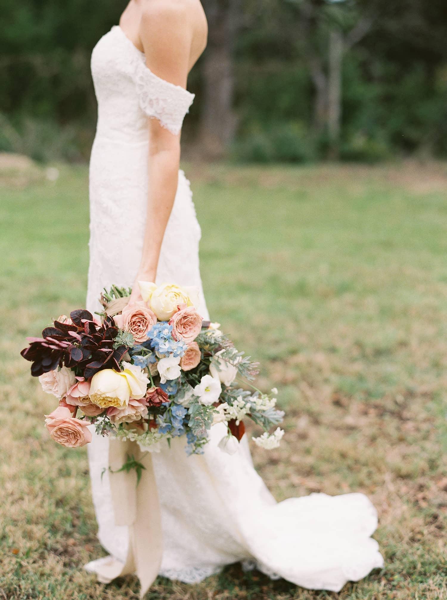 Bouquet featured on Martha Weddings