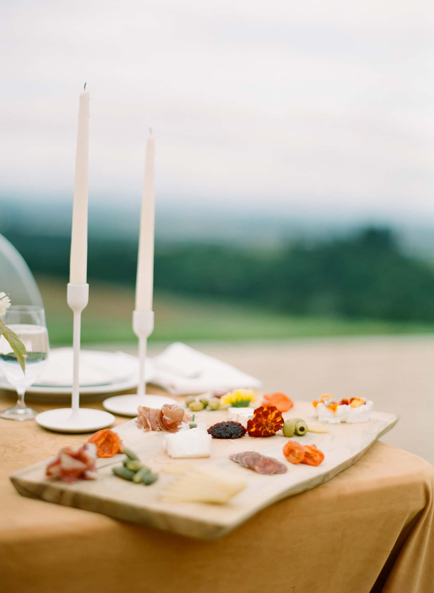 Wedding Charcuterie at Black Walnut Inn