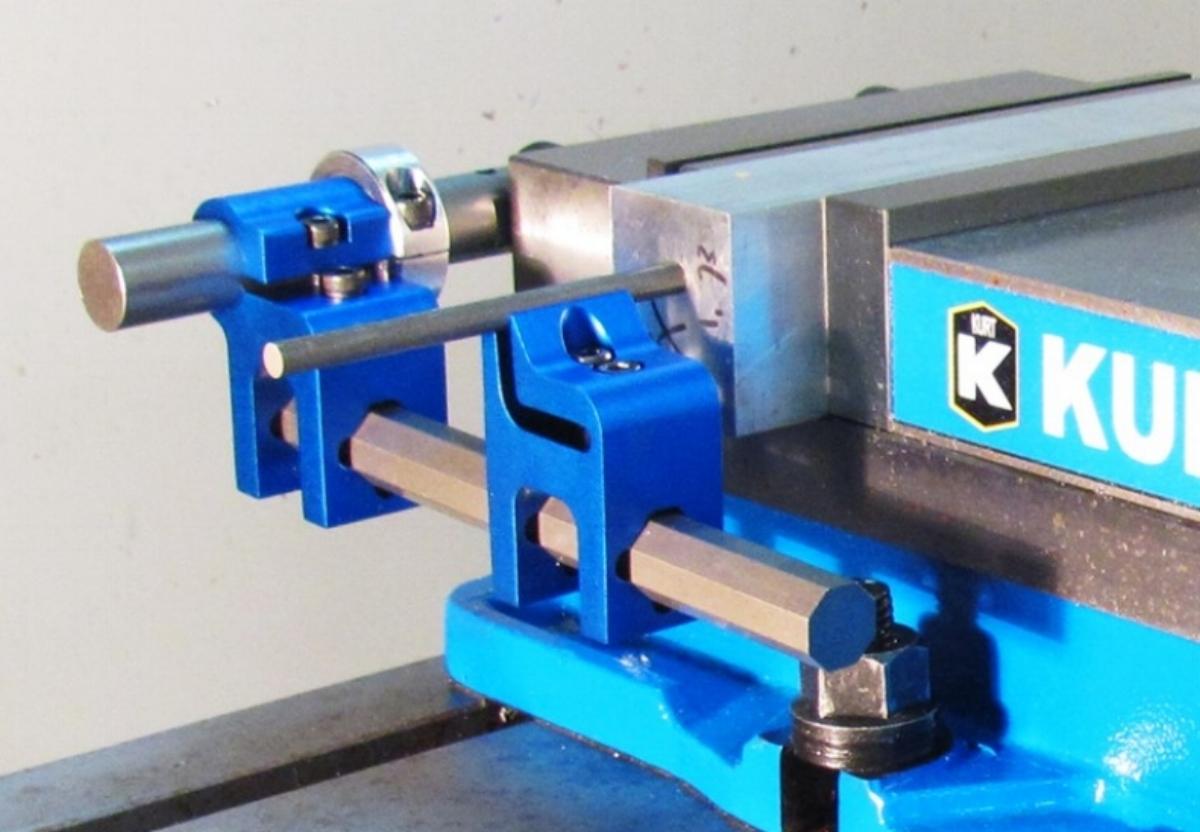 Work end stop vise CNC machinist Kurt