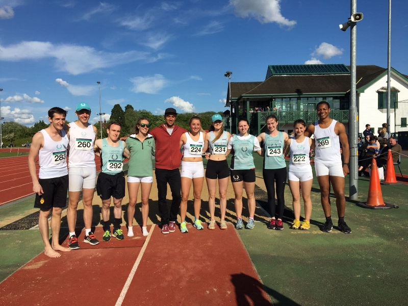 Cambridge University Athletics Club - Jumps Squad