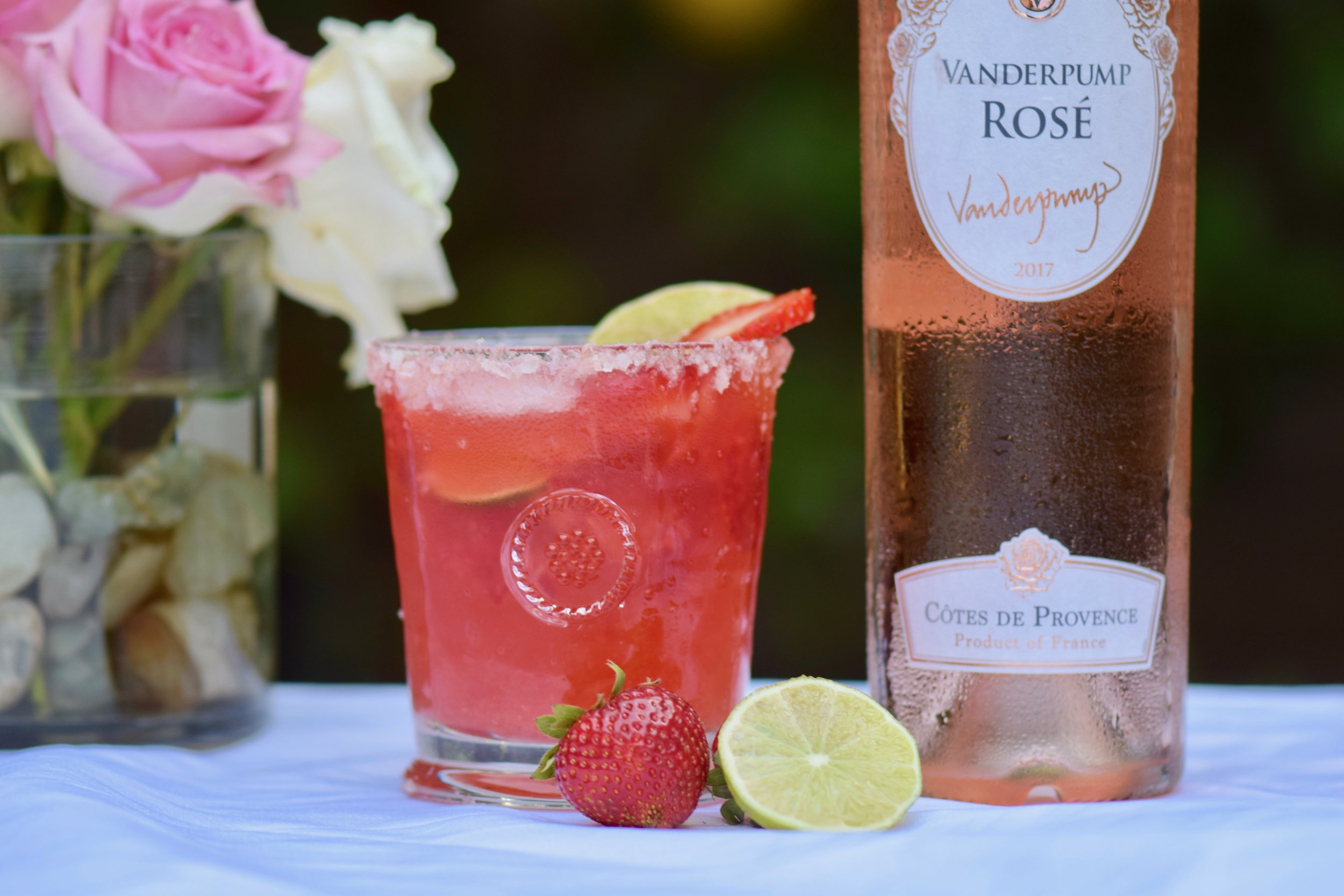 STRAWBERRY ROSÉ MARGARITA