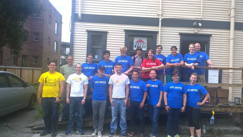United Way Day of Caring September 2014 Microsoft Team.JPG
