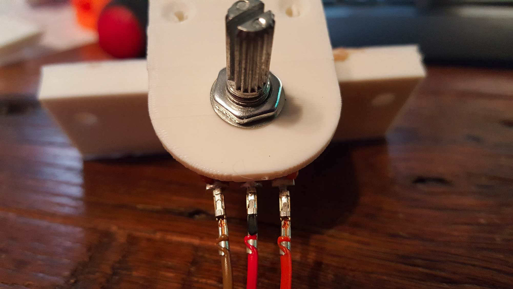 There you have it folks, the first official piece of wiring for BB-8.