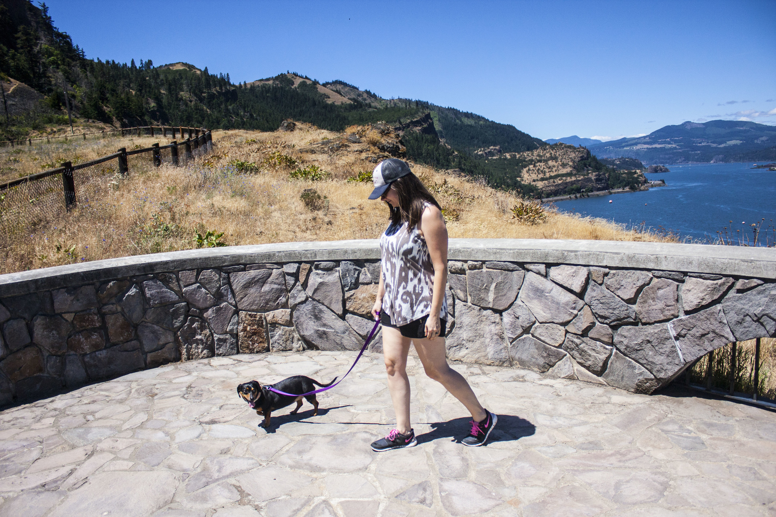 You can't beat the views from the Mosier Twin Tunnels trail.