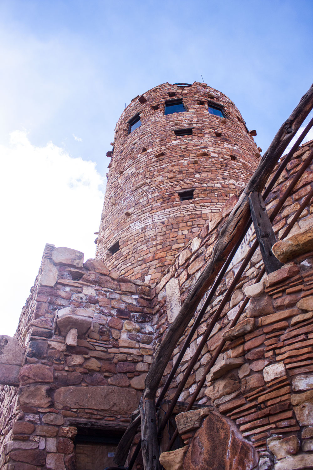 The Desert View Watchtower was a favorite with its spiral staircases and stunning views.