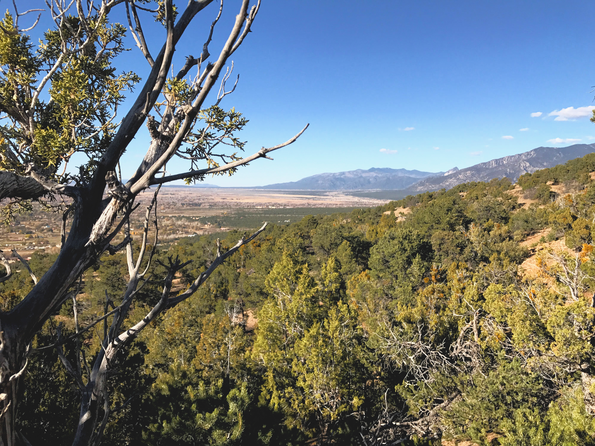 The views go on and on from the Devisadero Loop Trail.