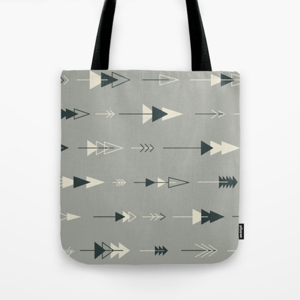 $20.99 on Society6 • Forest Ready Tote Bag by Busy Campers