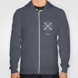 $46.99 on Society6 • Winter Wanderlust Hooded Sweatshirt by Busy Campers
