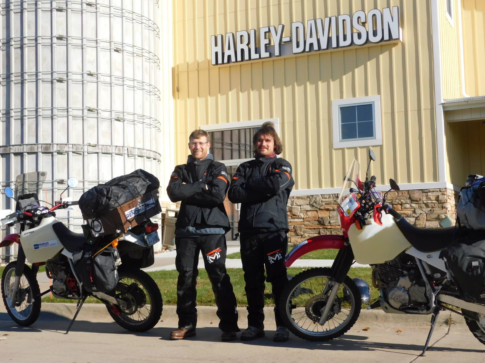 Official takeoff @ Harley Big Barn In Des Moines, Iowa