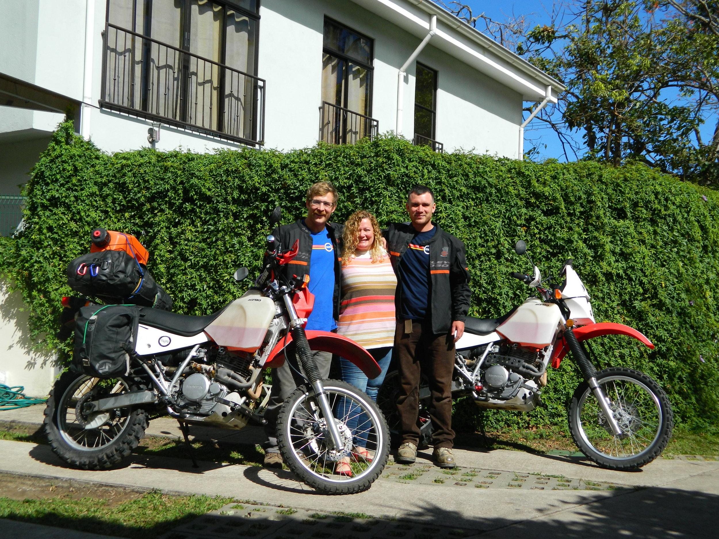 Leaving Erin in San Jose