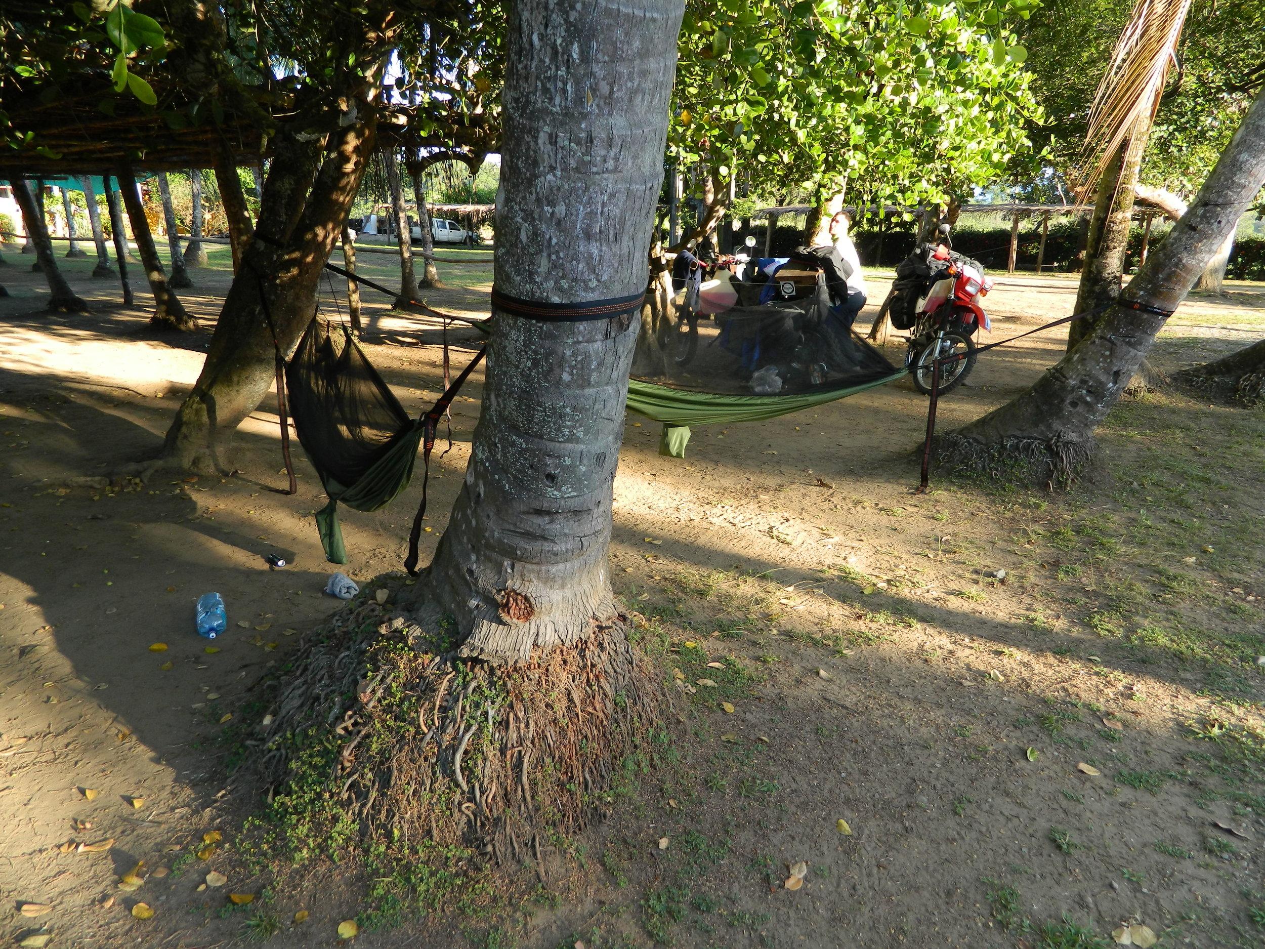 Camping in La Lulas