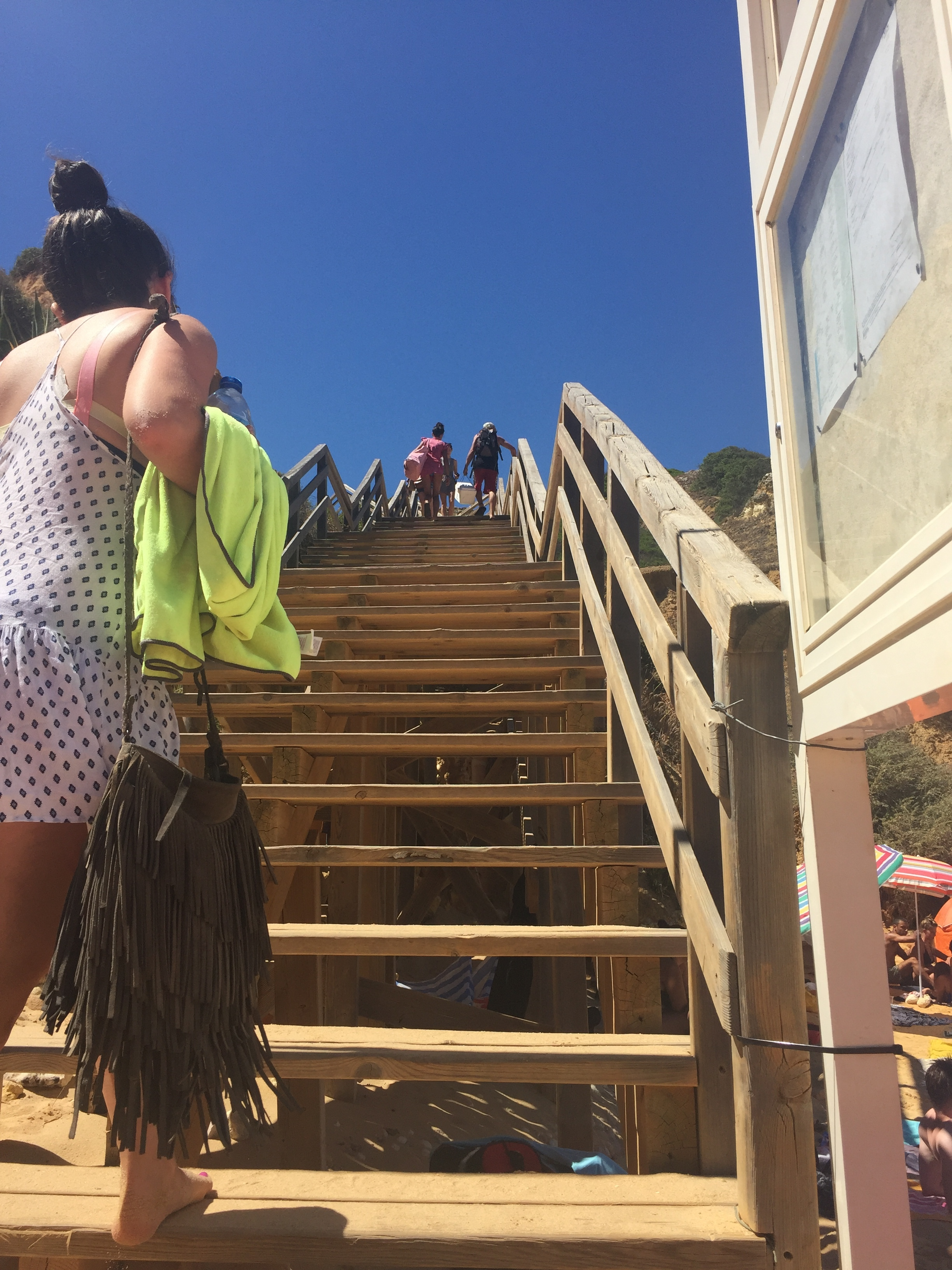 Stairs. Everywhere.