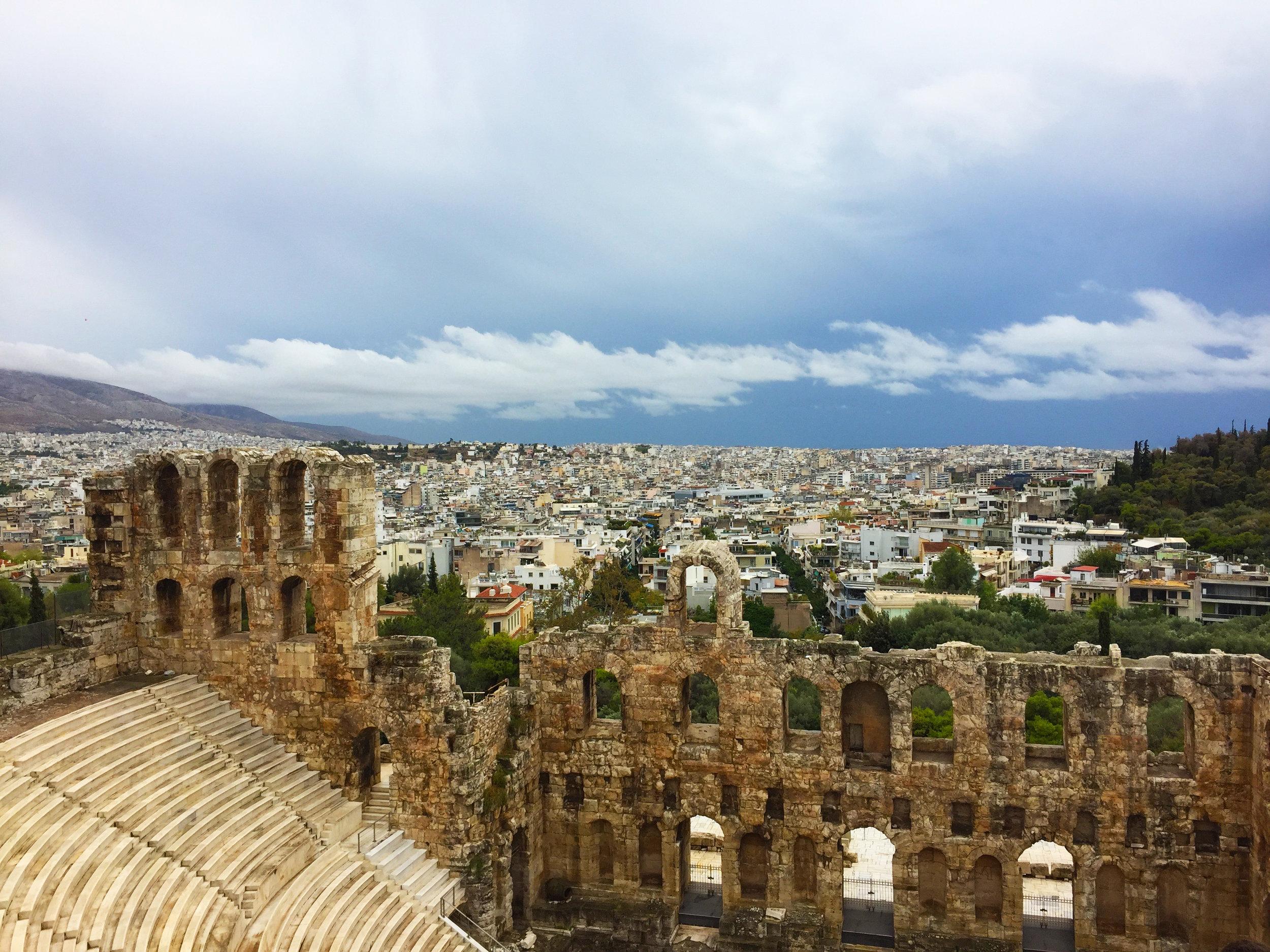 Acropolis is not a a crap oh lis.