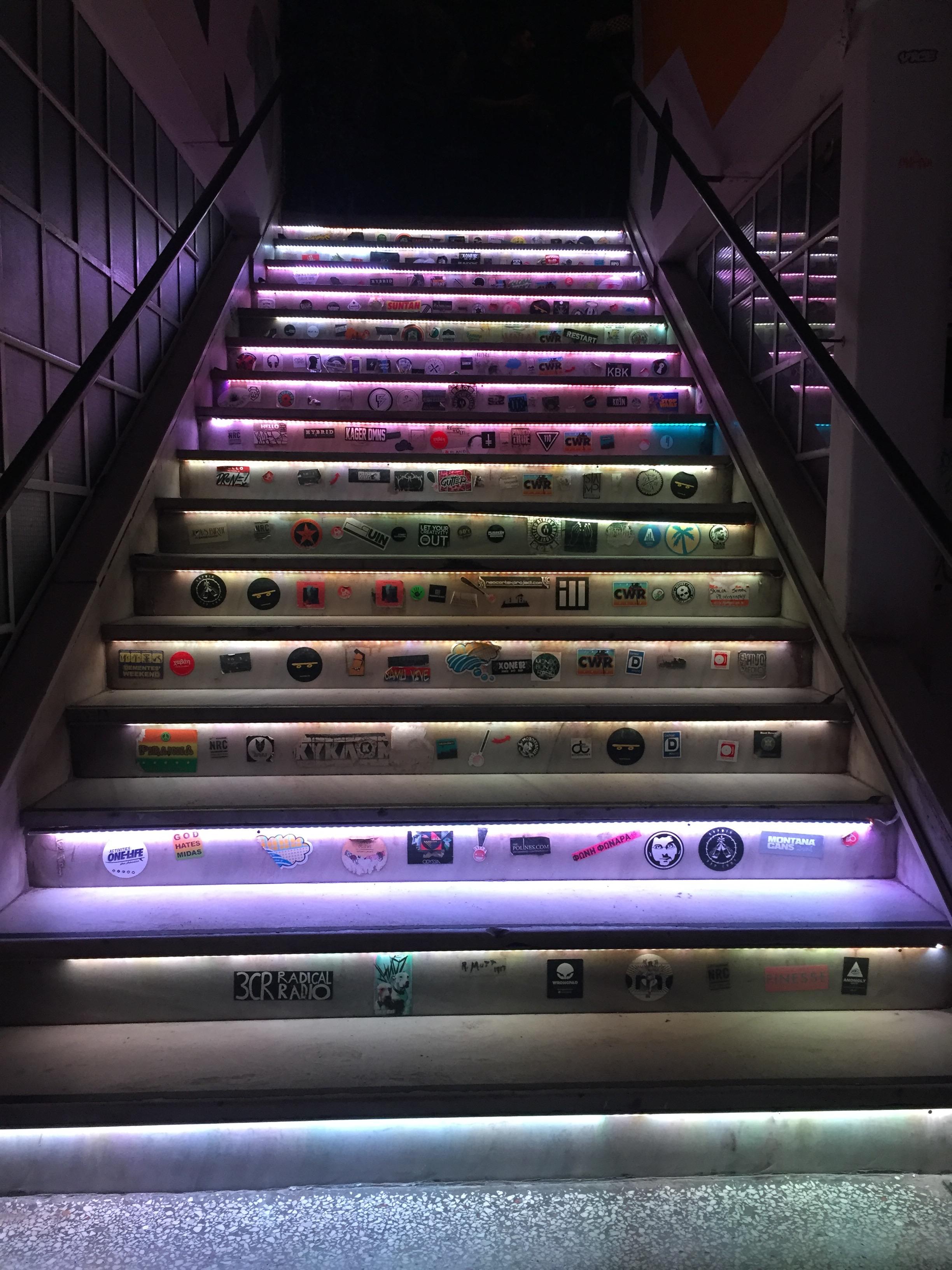 Stair rave!