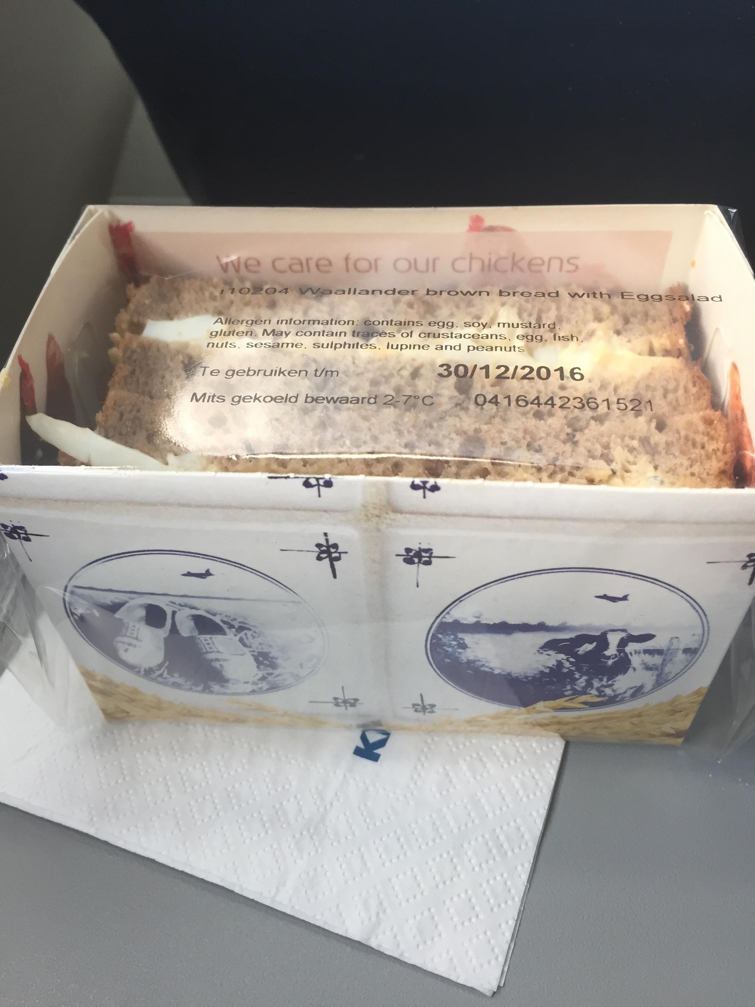 Mmm...weird plane sandwiches.