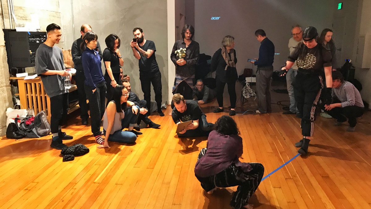 Kinetech Arts Open Lab, every Wednesday at CounterPulse
