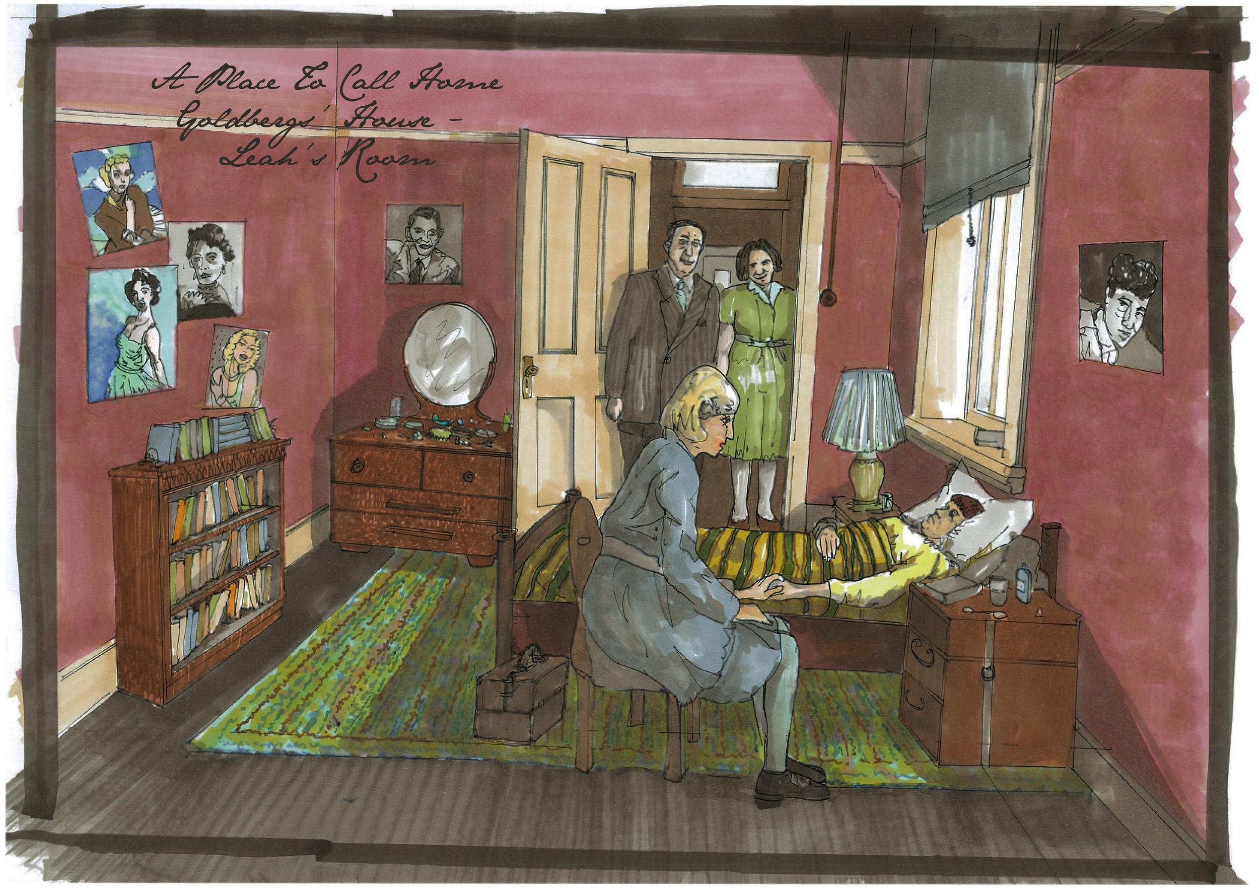 Goldbergs' House - Leah's Bedroom Concept.jpg