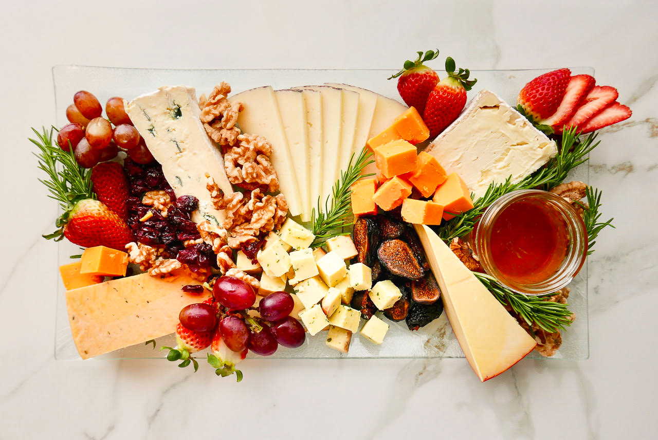 Cheese Platter for Aviation Catering