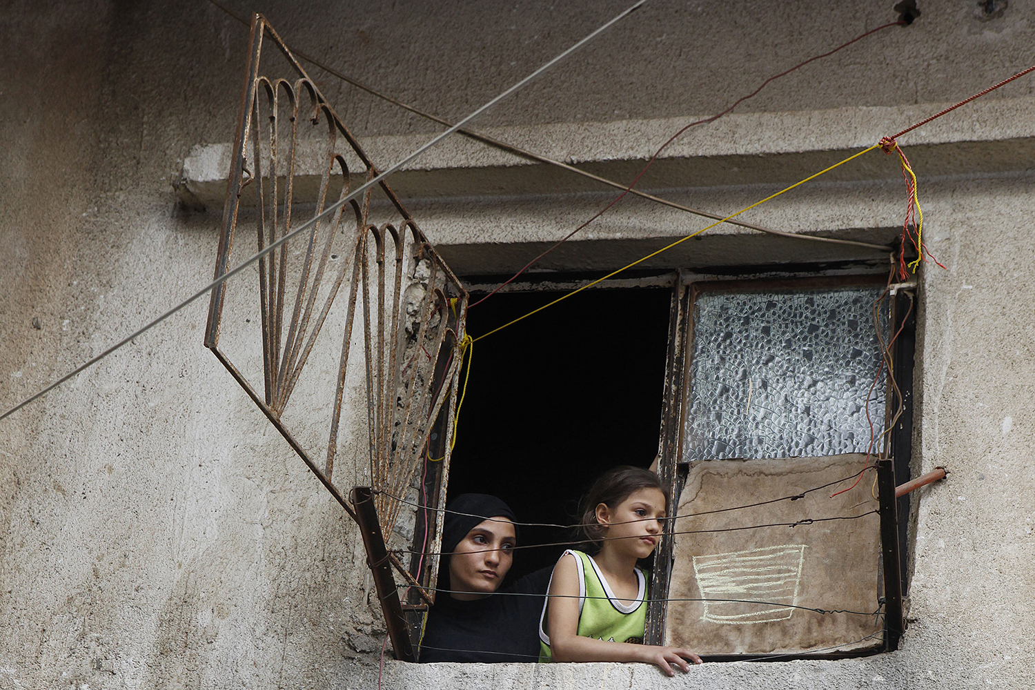 1 Residents of Shatila Palestinian refugee camp in West Beirut, Lebanon copy.jpg
