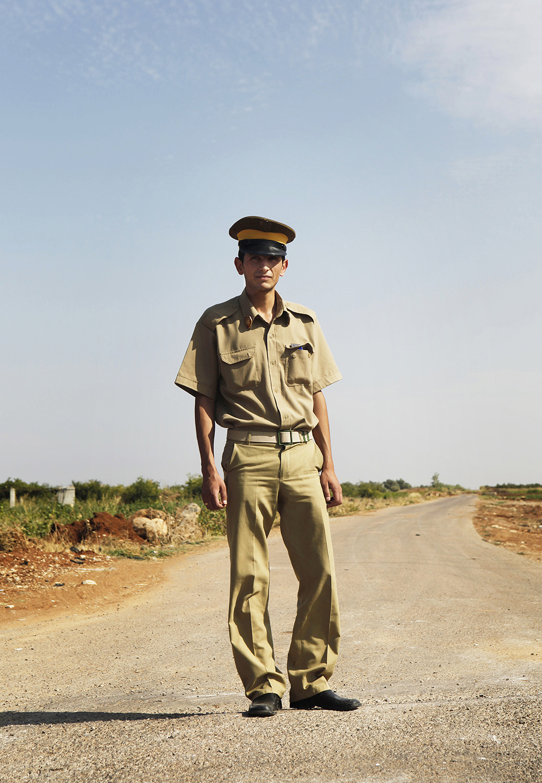 12. Policeman, Daraa region, Syria, (2009 before the current civil war.) jpg.jpg