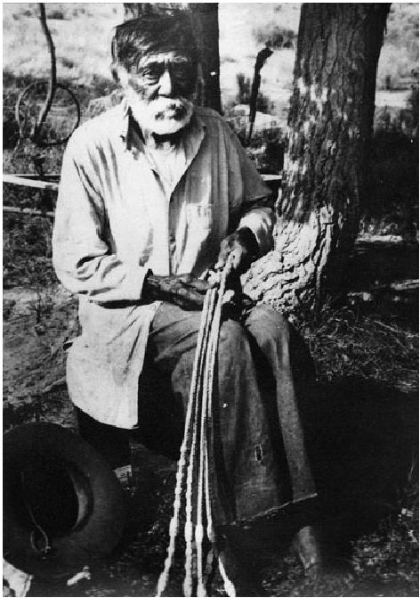 Esteban Miranda- Tübatulabal rain-making shaman