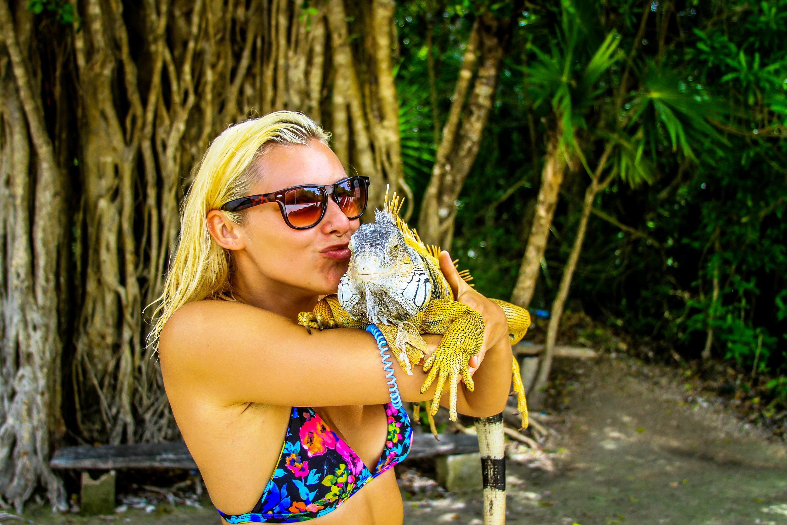 Tulum is one of the most ecologically diverse areas in the Yucatan Peninsula. Enlighten your spirit and embrace the magic of the local culture. Maybe even kiss an iguana.