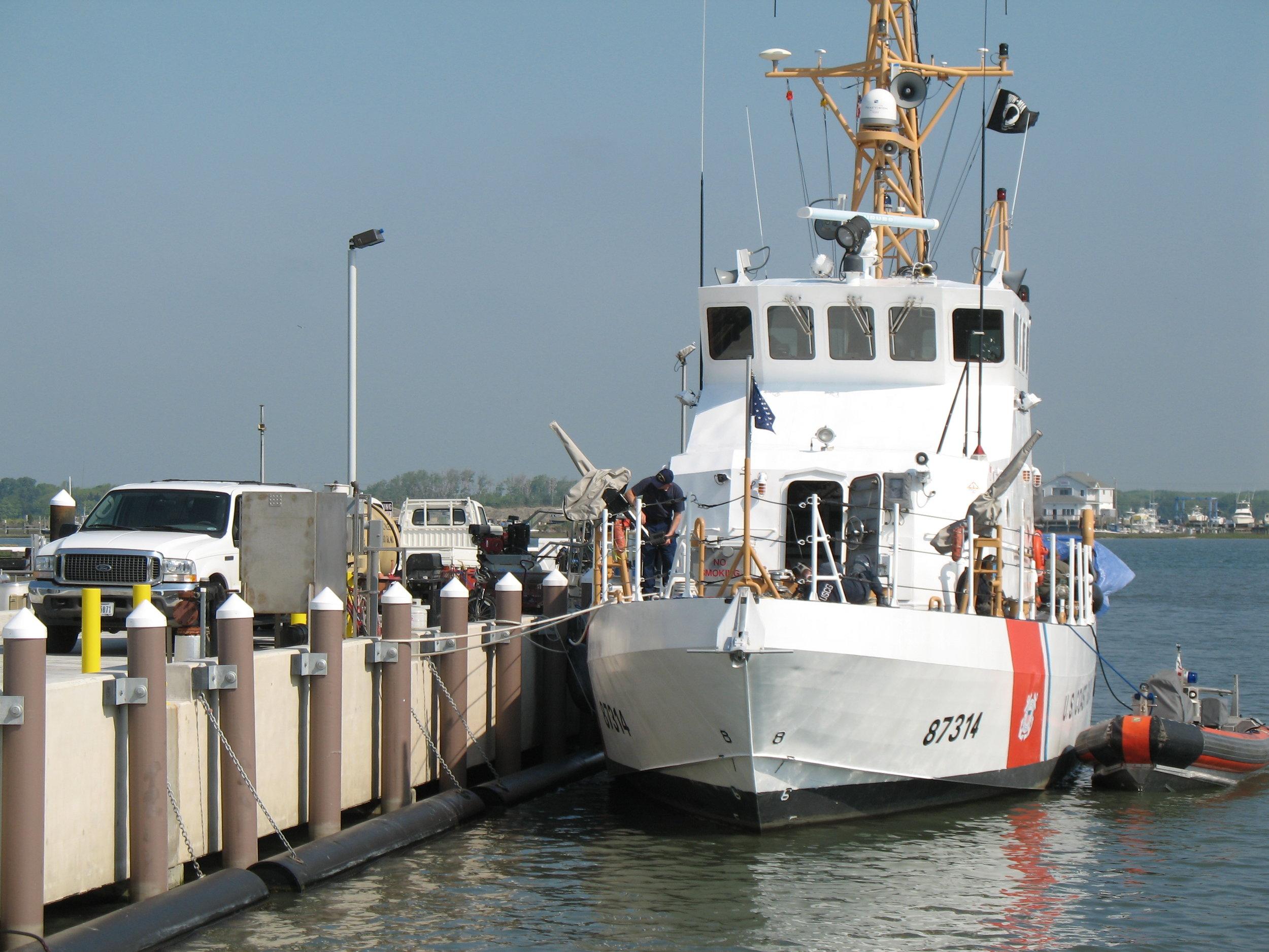 Pearson Pilings US Coast Guard NJ .JPG