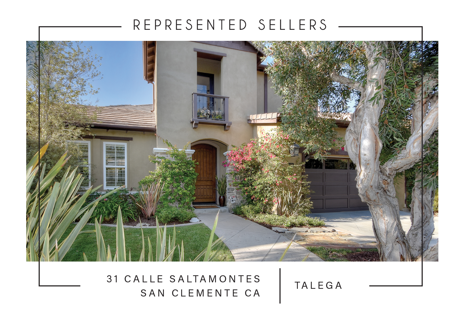 SOLD 1/2/2018    $1,030,000   31 calle saltamontes SAN CLEMENTE CA