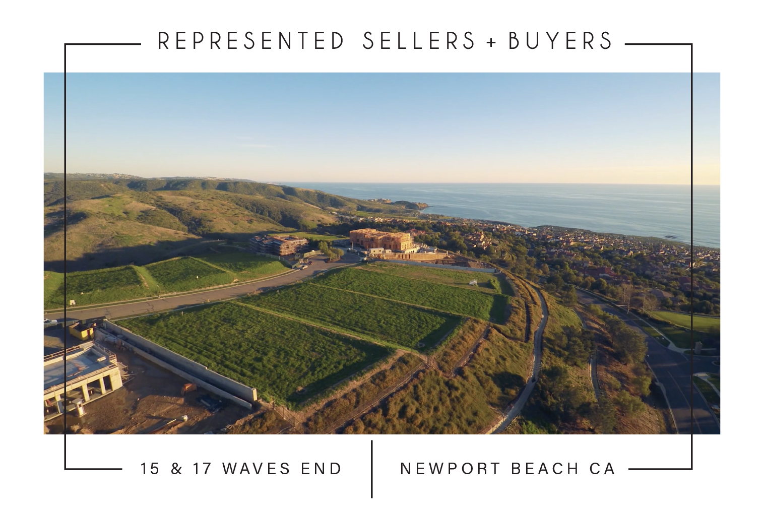 SOLD 01/04/2019 $25,500,000  15 & 17 WAVES END, SAN CLEMENTE CA