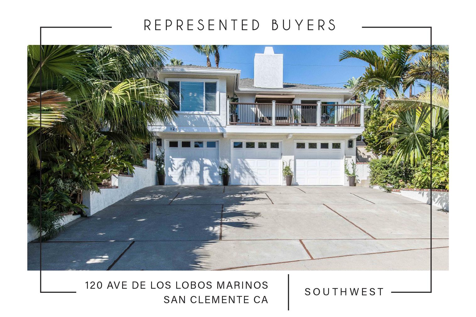SOLD 03/15/2019 $1,110,000  120 AVE DE LOS LOBOS MARINOS, SAN CLEMENTE CA