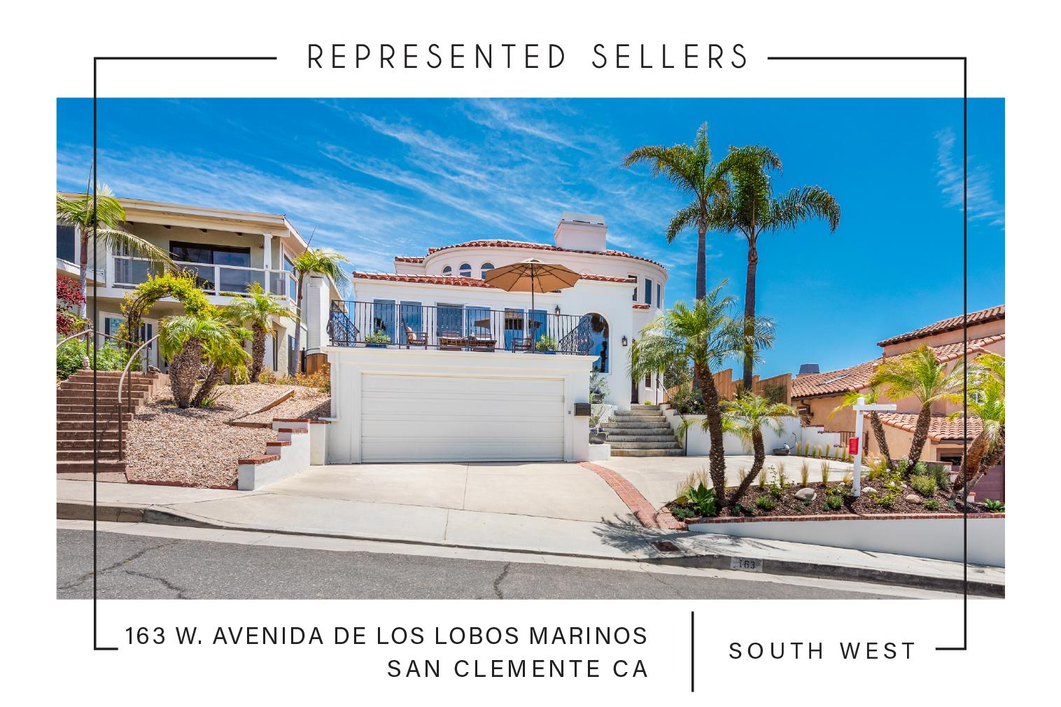 SOLD 07/01/2019 $1,800,000  163 Avenida De Los Lobos Marinos, San Clemente