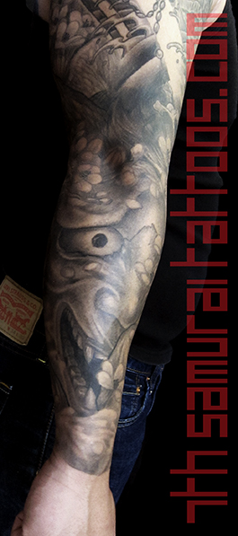 26.5 port Noh Mask Hannya Crane Geshia asian sleeve 7th Samurai Kai men's 15oct23 180 ryan TIFF main 16sep10.jpg